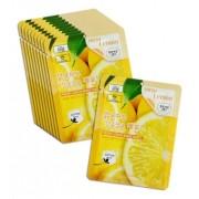 Маска Fresh Lemon Mask Sheet Тканевая  для Лица с Лимоном, 23 мл