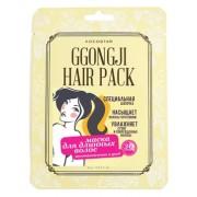 Маска Ggongji Hair Pack Восстанавливающая для Поврежденных Волос Конский Хвост, 8 мл