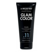 Кондиционер Glam Color Toner .11 Steel Gray Полуперманентный Тонирующий для Седых Волос, 200 мл