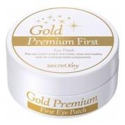 Патчи Gold Premium First Eye Patch Гидрогелевые для Глаз с Коллоидным Золотом, 60 шт