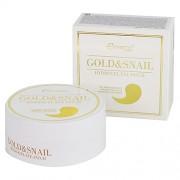Патчи Gold & Snail Hydrogel Eye Patch для Глаз Золото Улитка