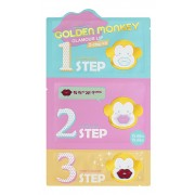 Набор для Ухода за Губами Golden Monkey Glamour Lip 3-Step Kit, 1 шт