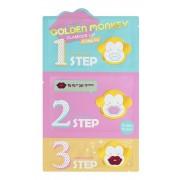 Набор Golden Monkey Glamour Lip 3-Step Kit, для Ухода за Губами, 1 шт