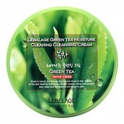 Крем Green Tea Moisture Cleaning Cleansing Cream Очищающий для Снятия Макияжа с Экстрактом Зеленого Чая, 300 мл