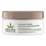 Суфле Herbal Body Souffle Coconut Fusion для Тела с Мерцающим Эффектом, 227гр