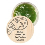 Гидрогелевые Патчи с Экстрактом Зеленого Чая Herbal Green Tea Hydrogel Eye Patches, 60 шт