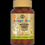 Таблетки Kangavites Жевательные Кангавитес с Мультивитаминами и Минералами со Вкусом Тропических Фруктов №60