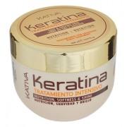 Маска Keratina Кератиновая Интенсивно Восстанавливающая для Поврежденных и Хрупких Волос, 500 мл