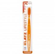 Щетка Lifestyle Зубная для Взрослых Средняя Цвет Оранжевый, 1 шт