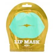 Патчи Lip Mask Mint Green Grapes Flavor Гидрогелевые для Губ с Ароматом Зеленого Винограда Мятные, 1 пара