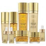 Набор Luxury Gold Set  Средств по Уходу за Кожей для Интенсивного Восстановления, 9 предметов