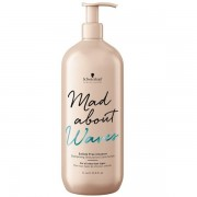 Крем Mad About Waves Sulfate Free Cleanser Бессульфатный Очищающий для Тонких Волос, 1000 мл