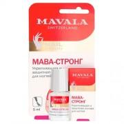 Основа Mava-Strong Carded Укрепляющая и Защитная для Ногтей Мава-Стронг на Блистере, 5 мл