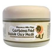 Маска Milky Piggy Сarbonated Bubble Clay Mask Пузырьковая для Лица с Глиной, 100г