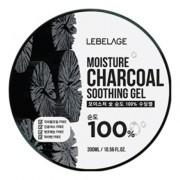 Увлажняющий Успокаивающий Гель с Углем Moisture Charcoal Purity 100% Soothing Gel, 300 мл