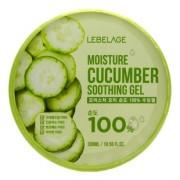 Гель Moisture Cucumber Purity 100% Soothing Gel Увлажняющий Успокаивающий с Огурцом, 300 мл