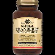 Клюква Natural Cranberry with Vitamin C с Витамином С Капсулы №60