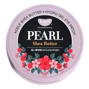 Патчи Pearl Shea Butter Hydro Gel Eye Patch Гидрогелевые для Области вокруг Глаз с Жемчужной Пудрой и Маслом Ши, 60 шт