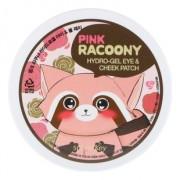 Патчи Pink Racoony Hydro-Gel Eye & Cheek Patch Гидрогелевые для Глаз и Щек, 60 шт