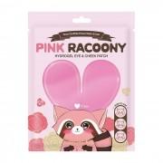 Патчи Pink Racoony Hydrogel Eye & Cheek Patch Гидрогелевые для Глаз и Щек, 3 шт