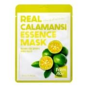 Маска Real Calamansi Essence Mask Тканевая для Лица с Экстрактом Каламанси, 23 мл