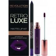 Набор для Макияжа Губ Retro Luxe Kits Matte Royal
