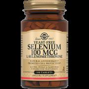 Таблетки Selenium 100 Mcg Селен 6 100 мкг №100, 1 уп