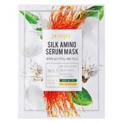 Маска Silk Amino Serum MaskТканевая с Аминокислотами Шелка, 25г