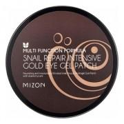 Патчи Snail Repair Intensive Gold Eye Gel Patch Гидрогелевые с Улиточным Муцином, 60 шт