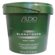 Порошок Studio Dust Free Blondtouch Bleaching Powder Обесцвечивающий с Экстрактом Женьшеня и Рисовыми Протеинами, 500 мл