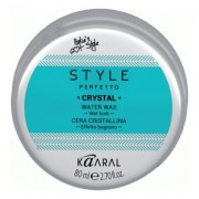 Воск Style Perfetto Crystal Water Wax для Волос с Блеском, 80 мл