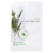Маска Tea Tree Daily Care Sheet Mask Тканевая для Лица с Экстрактом Чайного Дерева, 22г