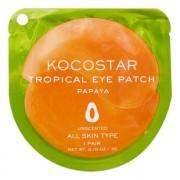Патчи Tropicla Eye Patch Papaya Single Гидрогелевые для Глаз Тропические Фрукты Папая, 1 пара