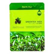 Маска Visible Difference Mask Sheet Greentea Seed Тканевая для Лица с Экстрактом Семян Зеленого Чая, 23 мл