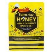 Маска Visible Difference Mask Sheet Honey Тканевая для Лица с Экстрактом Меда, 23 мл