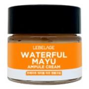 Ампульный Крем Увлажняющий с Лошадиным Маслом Waterful Mayu Ampule Cream, 70 мл