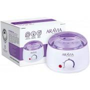 Нагреватель Aravia Professional с Термостатом (Воскоплав) 500 мл Сахарная Паста и Воск, 1 шт