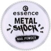 Эффектная Пудра для Ногтей B-To-B Metal Shock Nail Powder, Синий Перламутр тон 05