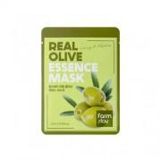 Маска Real Olive Essence Mask Тканевая для Лица с Экстрактом Оливы, 23мл