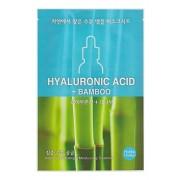Маска Hyaluronic acid Ampoule Essence Mask Sheet Тканевая для Лица с Гиалуроновой Кислотой, 16 мл