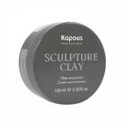 """Глина для Укладки Волос Нормальной Фиксации """"Sculpture Clay"""", 100 мл"""