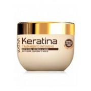 Кератиновая Интенсивно Восстанавливающая Маска для Поврежденных и Хрупких Волос Keratina, 500 мл