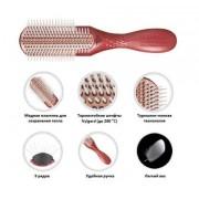 Щетка Heat Pro Ceramic+Ион 9 Рядов