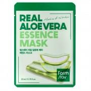 Маска Real Aloe Vera Essence Mask Тканевая для Лица с Экстрактом Алоэ, 23 мл
