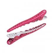 Зажимы Shark Сlip 8 штук Металл Розовый