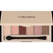 Тени A.Blending Pro Eyeshadow Palette для Век Нудистский Пляж, 6 шт/2г