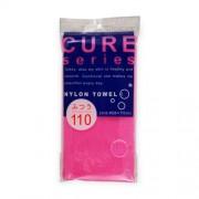 Мочалка Cure 2 Средней Жесткости из 100% Ультратонкого Нейлона Размер 28Х110 см, 1 шт