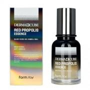 Эссенция Derma Cube Red Propolis Essence Питательная с Прополисом и Гибискусом, 70 мл