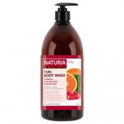 Гель Pure Body Wash Cranberry Orange для Душа Клюква и Апельсин, 750 мл
