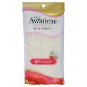 Мочалка Awa Time Body Towel Super Soft для Тела Супермягкая Белая, 35г